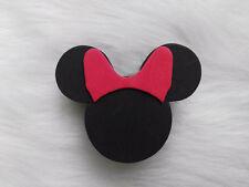 Cute Black Minnie Antenna Ball Car Aerial Ball Antenna Topper Decor & Pen Ball