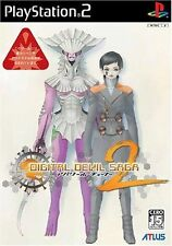 Used PS2 Digital Devil Saga: Avatar Tuner 2 SONY PLAYSTATION JAPAN IMPORT