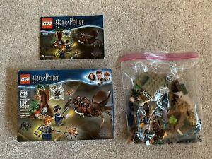 Harry Potter Lego 75950 Aragog's Lair Spider Complete Set Box EUC