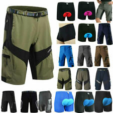 Breathable Soft Cycling Shorts Road Bike 3D Gel Pants MTB Riding Trouser Outdoor