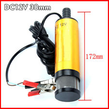 DC 12V Car Electric Submersible Pump Diesel Fuel Oil Transfer Switch Filter