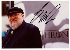GEORGE R. R. MARTIN signed autographed GAME OF THRONES photo