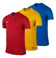 Boys Nike V Neck Logo Short Sleeves Dry Football Top Sizes Age from 5 to 13 Yrs