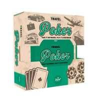 Travel Poker Set Playing Cards Poker Chips Texas Hold em In Tin Casino Game UK