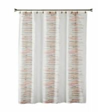 SKL Home Mori Fabric Shower Curtain - Blush - Paintstroke Pattern