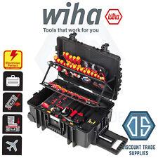 Wiha competencia XXL II Electricista's Tool Set Surtido en caso de 115-pcs 42069