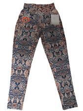 Neuf Zubaz Auburn Tigers Femmes Taille M Yoga Leggings Pantalons De
