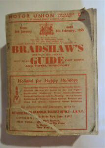 Bradshaws British Railways Official Guide Timetable & Hotel Directory