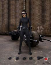 1/6 Catwoman Selina Kyle Figure Clothes & Head Model The Dark Knight Rises Batma