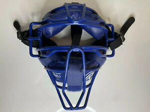 Rawlings Blue Baseball Catcher & Umpire Face Protector Mask PWMXJ