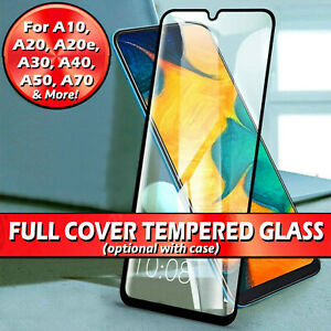 For Samsung Galaxy A20 A21s A41 A51 A70 A71 Tempered Glass Screen Protector/Case