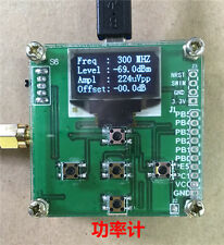 OLED RF Power Meter  0-500Mhz -80~10 dBm + Sofware Attenuation value setting