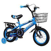 "12""-14""-16"" Kids Bike Cruiser Bicycle Boys & Girls with Training Wheels W/Brake"