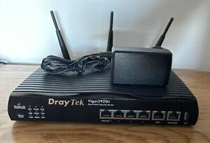 Draytek 2920n Wireless Gigabit LAN Dual WAN Router