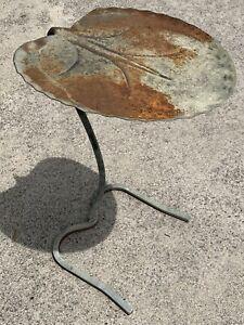 SALTERINI LILY PAD TABLE MID CENTURY MODERN NESTING TABLE PATIO