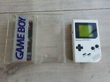 Original Nintendo Game Boy Gameboy White Magic Weiss Play it Loud Edition Top