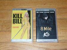 Eminem 8 Mile & Kill Bill Vol 1• Movie UMD for PSP Quentin Tarantino