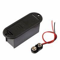 9V Batterie Halter Für Aktive Gitarre Bass Adapter E2S4) 1M7