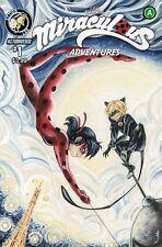 MIRACULOUS ADVENTURES LADYBUG CAT NOIR #1 ACTION LAB VARIANT    100217