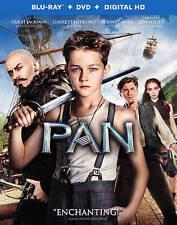 Pan (Blu-ray/DVD, 2015, 2-Disc Set, Includes Digital Copy)