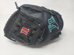 "Nokona Baseball Glove TN1050 10.5"" Right Hand Throw Genuine Leather Black RHT"