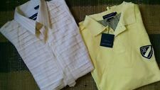 Men's SHIRTS SIZE L (2) Christopher Wicks English Laundry Cremieux Polo Shirt