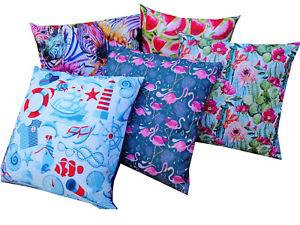Water Resistant Outdoor Cushions Summer Garden Furniture Cushion Pillow Case