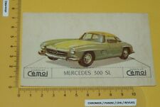 CHROMO 1950-1959 CHOCOLAT CEMOI DECOUPAGE AUTOMOBILE AUTO MERCEDES 300 SL BENZ