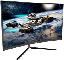 VIOTEK GNV27DB 27-Inch Curved QHD Gaming Monitor 144Hz 1440p 4.8ms G-Sync &