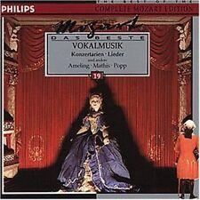 Mozart il meglio 19: musica vocale (Philips, 1974-91)