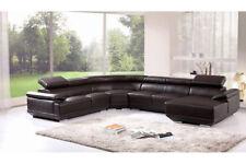 Interior Design Corner Sofa Leather Couch Pads Seat Set New 3367