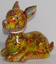 Pomme Pidou   Spardose Deko Keramik  Keramikfigur Bambi 20*15 cm