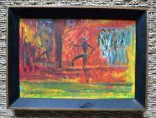 Peinture à l'huile d'Antonio Vasquez Parra - Danse - Surréalisme - XXème - 1956