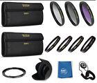 67mm Lens Filter Kit For Canon SX40 SX50 SX60 HS SX520 SX530 + Close Up Lens ++