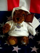 HRC Hard Rock Hotel Orlando Sweater Hoodie Bear 2010 LE Made by Herrington NWT