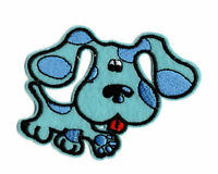 BLUES CLUES Iron on Patch Embroidered Badge Motif Cartoon Dog Sew PT79