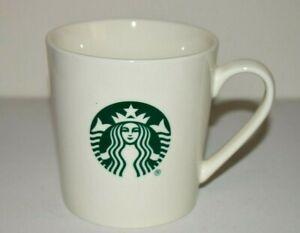 Starbucks Coffee Mug 17 Fl Oz White Cup Classic Green Mermaid Logo
