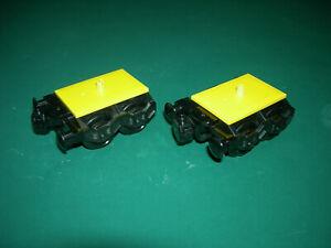 Lego Eisenbahn 2x Drehgestell/Achsen/Räder (60051,60052,60098,60197,60198,7939)