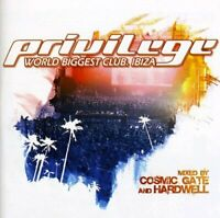 Privilege: World Biggest Club, Ibiza - Mixed by Cosmic Gate and Hardwell [CD]