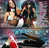 DJ ANT LO R&B Classics #1 RNB Mixtape Classic 90's 1990's Throwback MIx CD