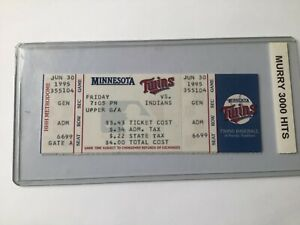 Eddie Murray 3000 Hits Ticket Stub NrMt Blow Out Sale Orioles Hall of Fame