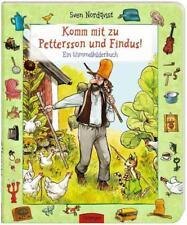 Komm mit zu Pettersson und Findus! Ein Wimmelbilderbuch von Sven Nordqvist (2011, Gebundene Ausgabe)