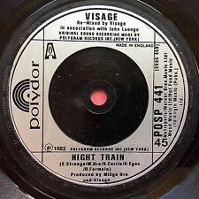 Visage - Night Train / I'm Still Searching - Polydor POSP-441 Ex Condition A1/B1