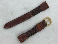 Hirsch Austria 16mm 18mm  Genuine Leather Watch Band #262