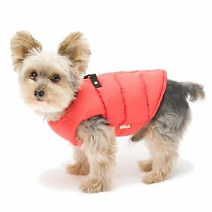 Stinky G Puffy Puffer Dog Coat Vest Watermelon - For Small Dogs Size 10