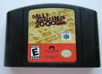 *GOOD* Rally Challenge 2000 Nintendo 64 N64 Video Game Cart Super Fun Retro Kids