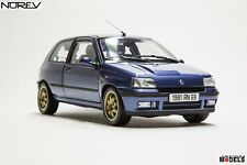 RENAULT CLIO WILLIAMS 1993 BLUE  Norev Collectors Die Cast 1/18 Nuovo New