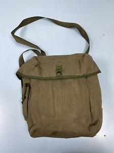 Genuine British Army Olive Green Respirator Haversack Case Shoulder Bag Gas Mask