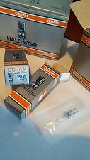 OSRAM 64425 HALO STAR 20W 12V HALOGEN LAMP NIB LOT OF 5