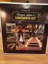 Luminaria Kit, Snowflake Complete, LumaBase, 12 Walkway Lanterns